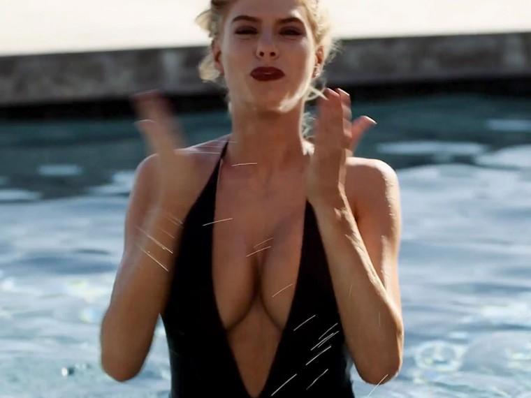 Black Bikini Of Charlotte McKinney 1