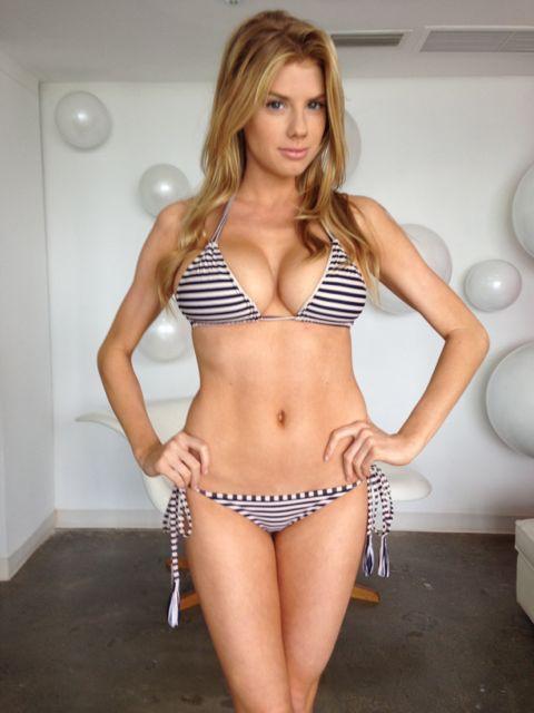 Charlotte McKinney Sexy Bikini 3