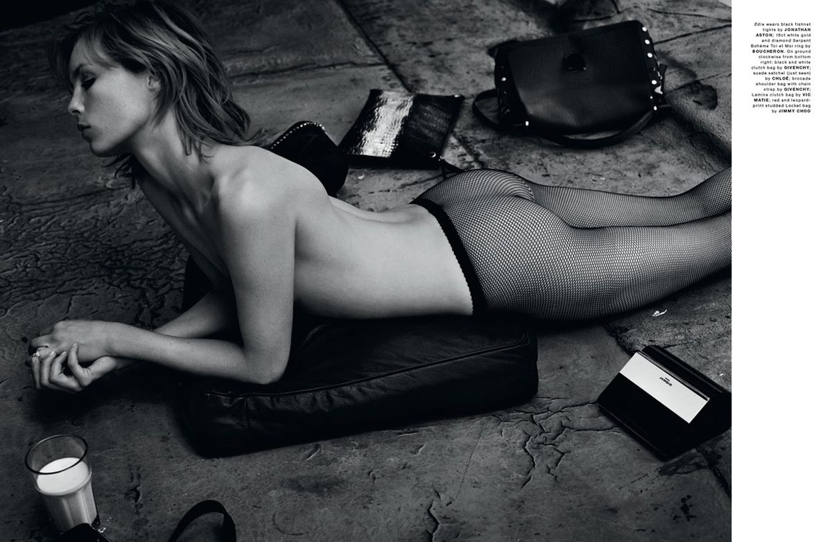 Edie Campbell Topless 4