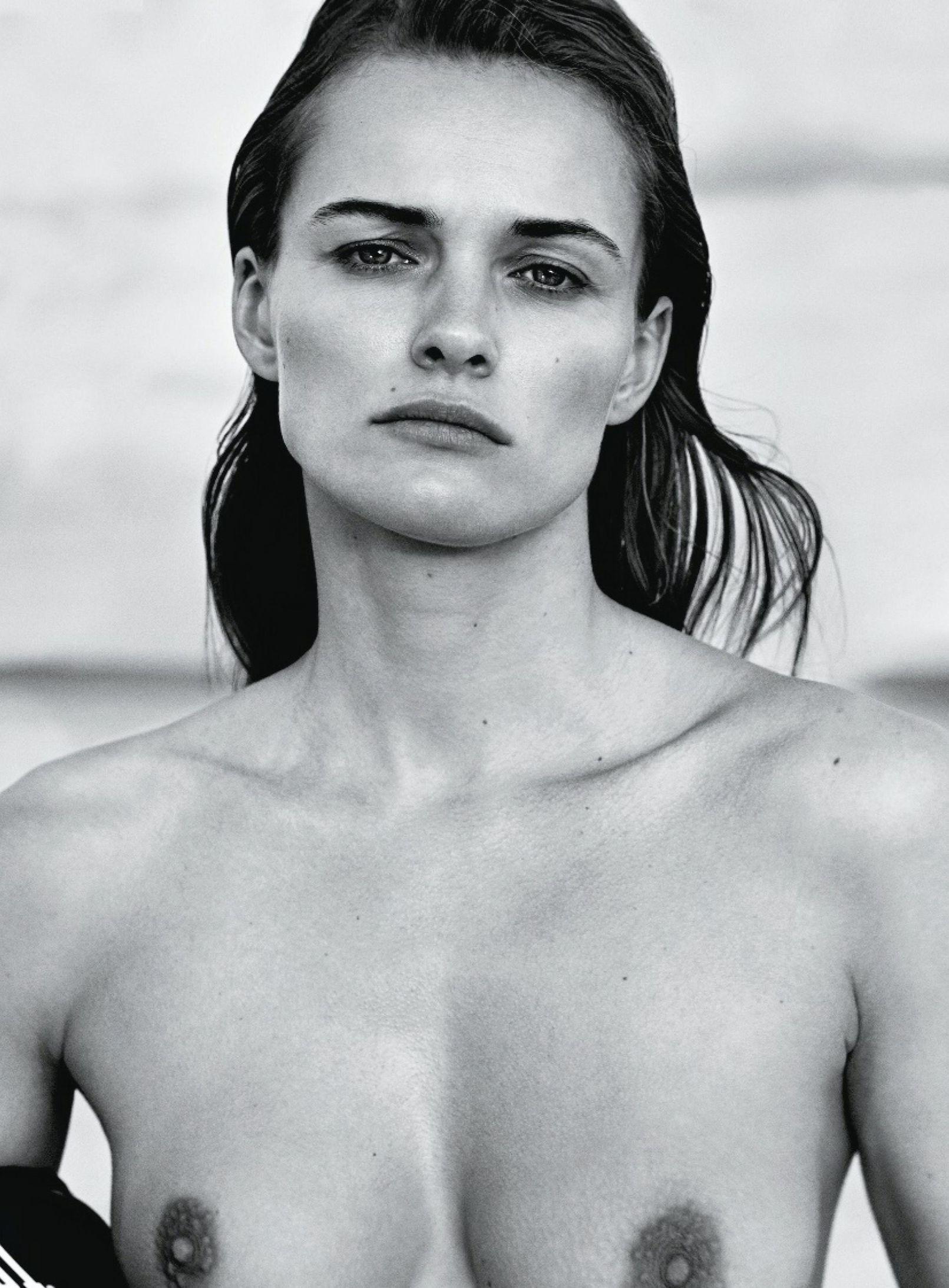 Edita Vilkeviciute Topless Photoshoot 1