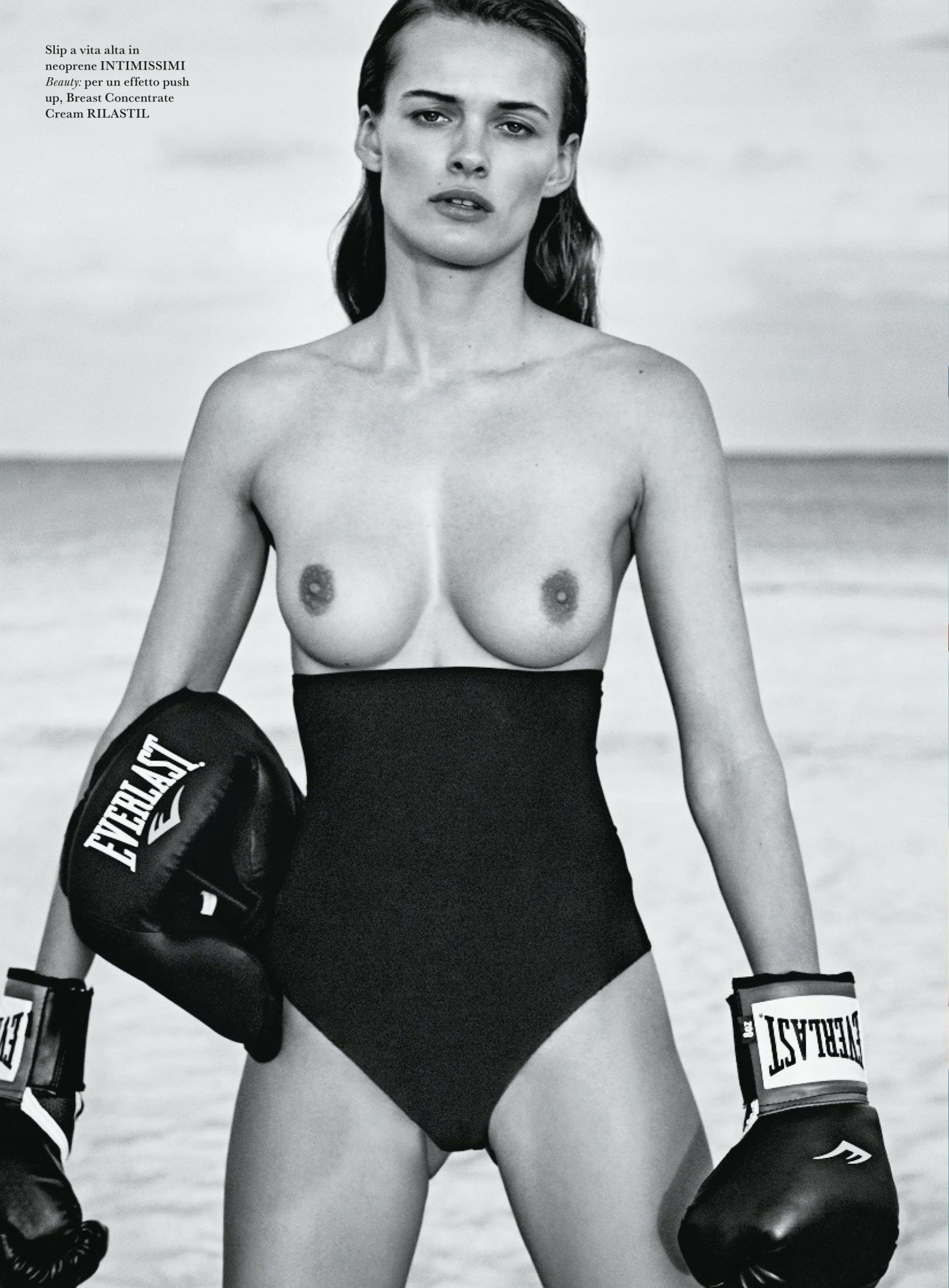 Edita Vilkeviciute Topless Photoshoot 2