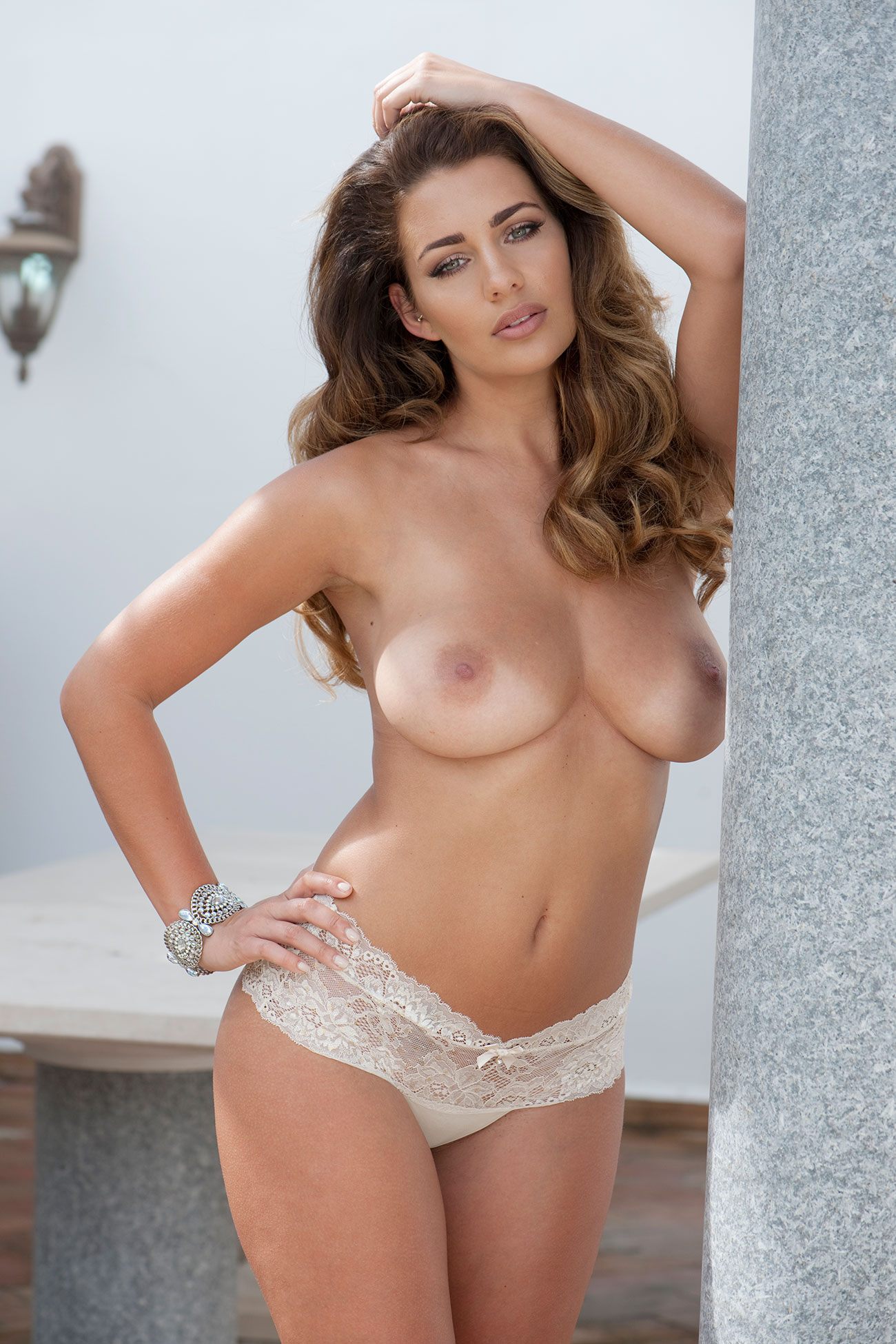 Holly Peers Topless Photoshoot 2