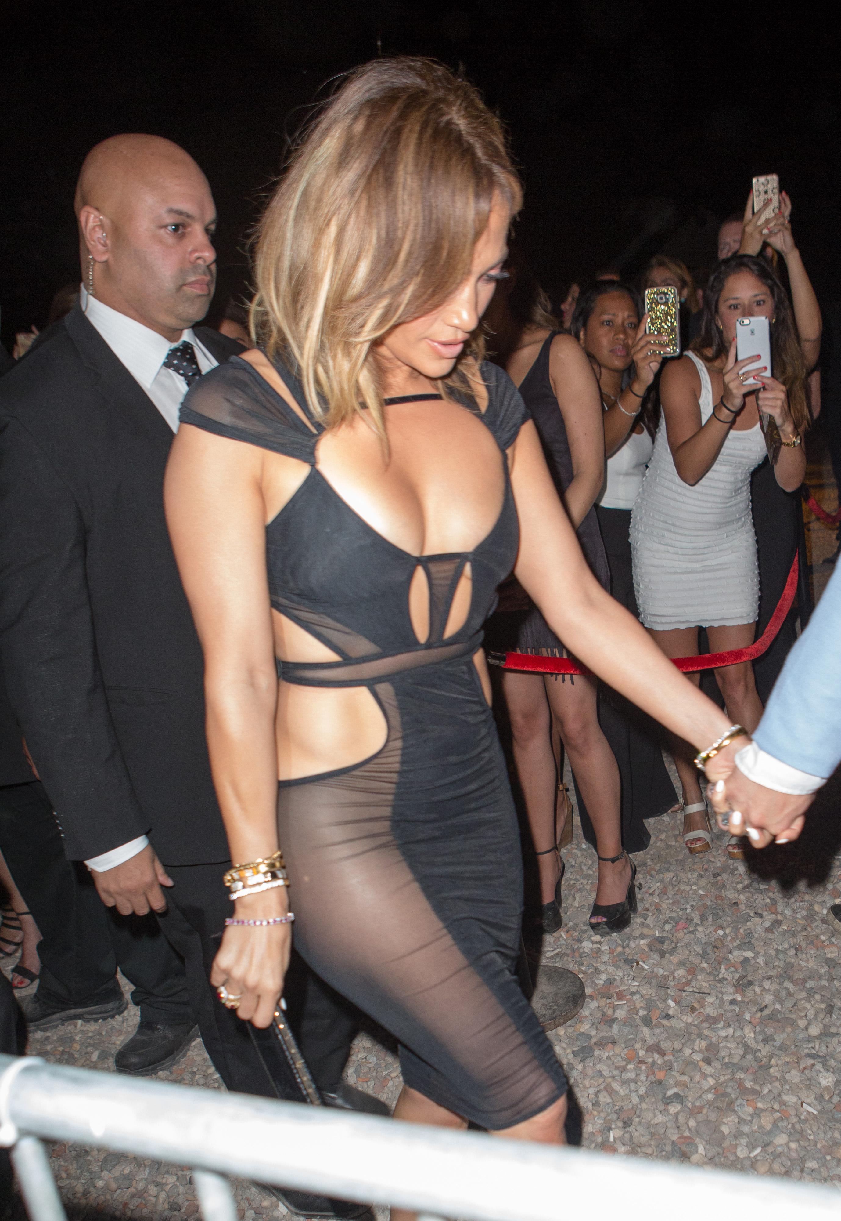 Jennifer Lopez See Through Pics 11