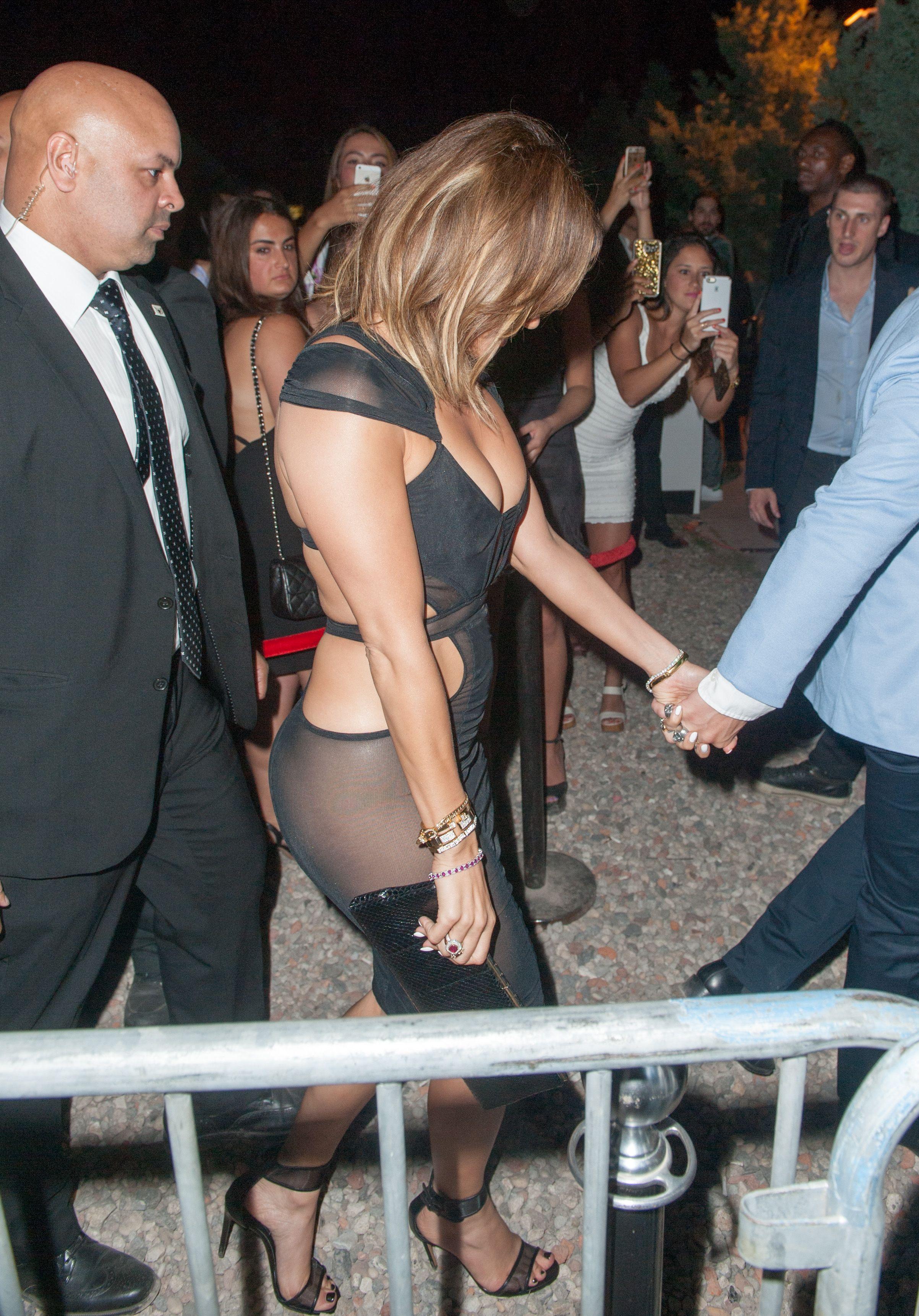 Jennifer Lopez See Through Pics 16