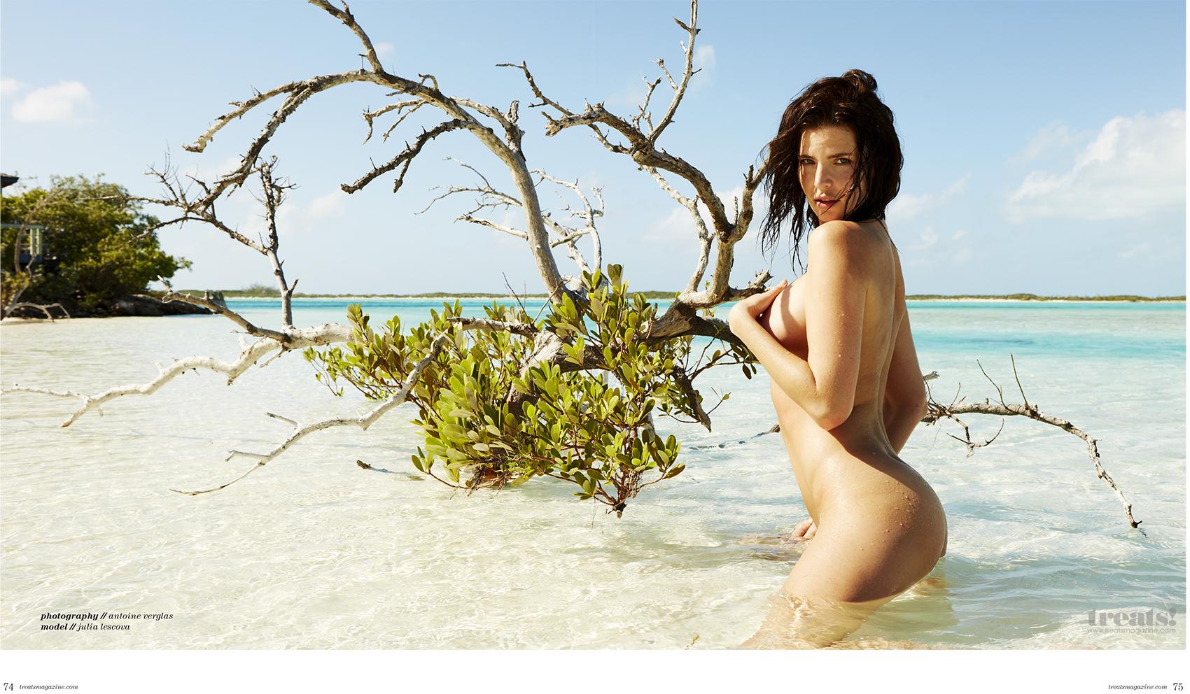 Julia Lescova Full Nude Photoset 2