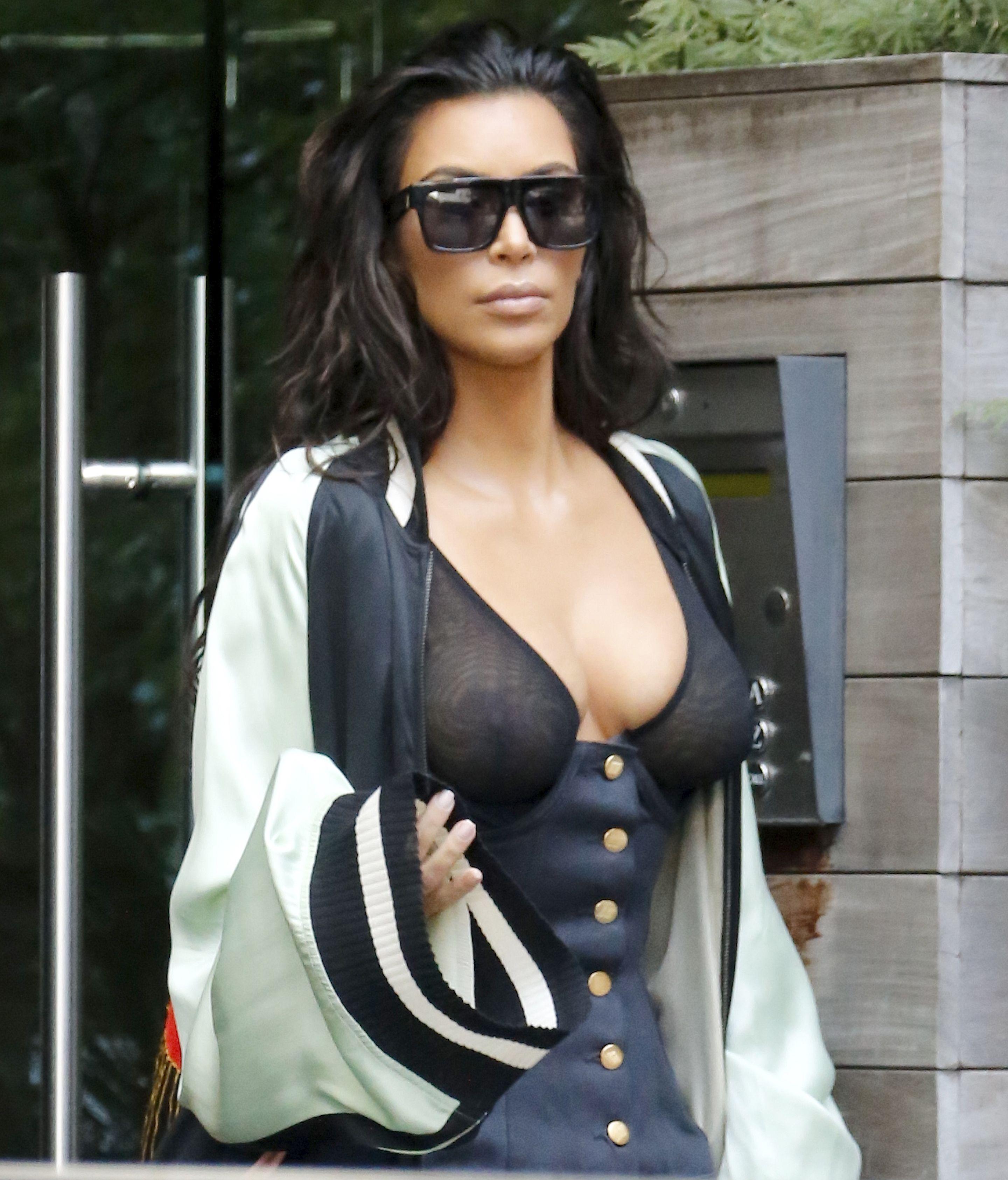 Kim Kardashian See Through 1 1
