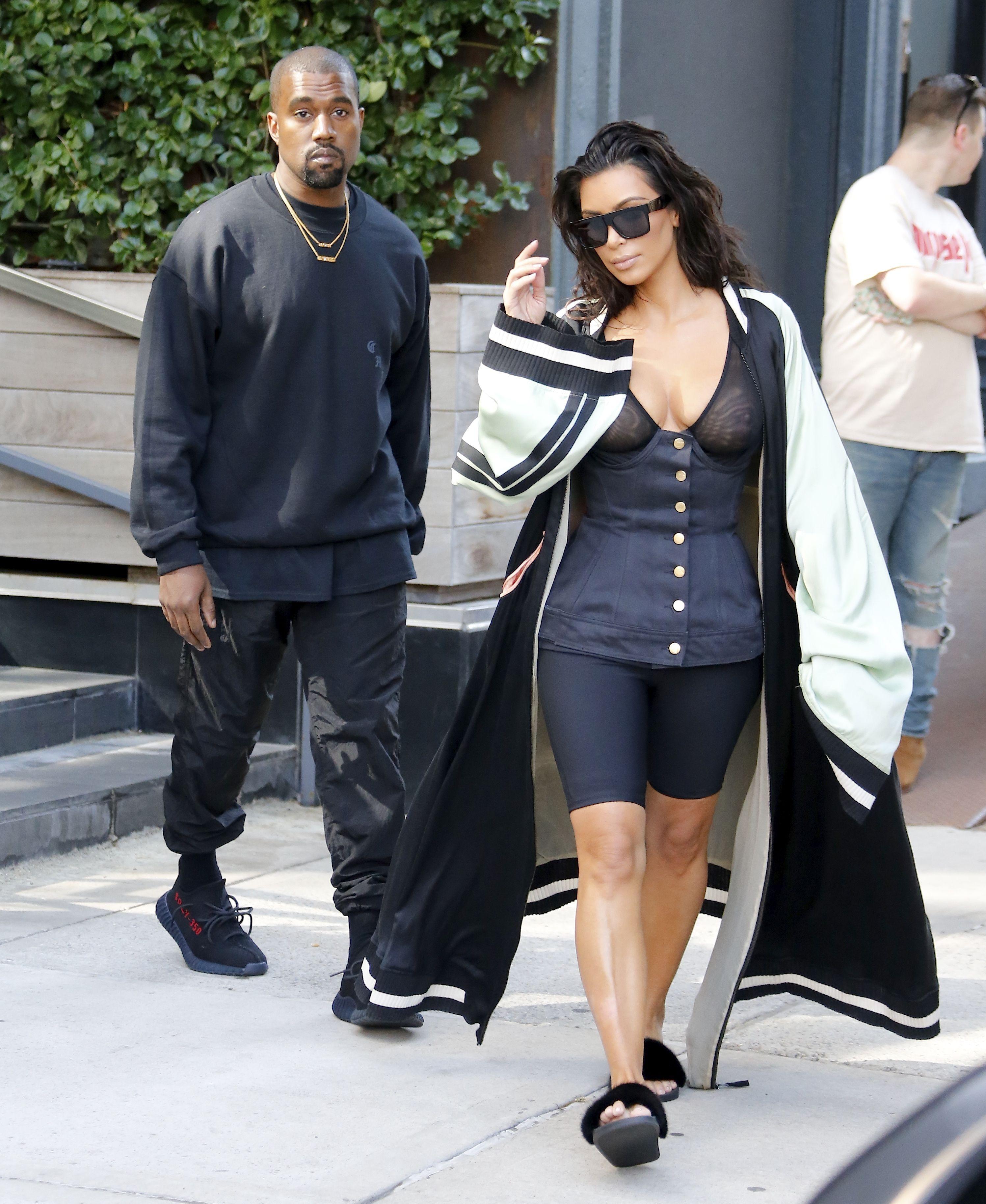 Kim Kardashian See Through 10 1