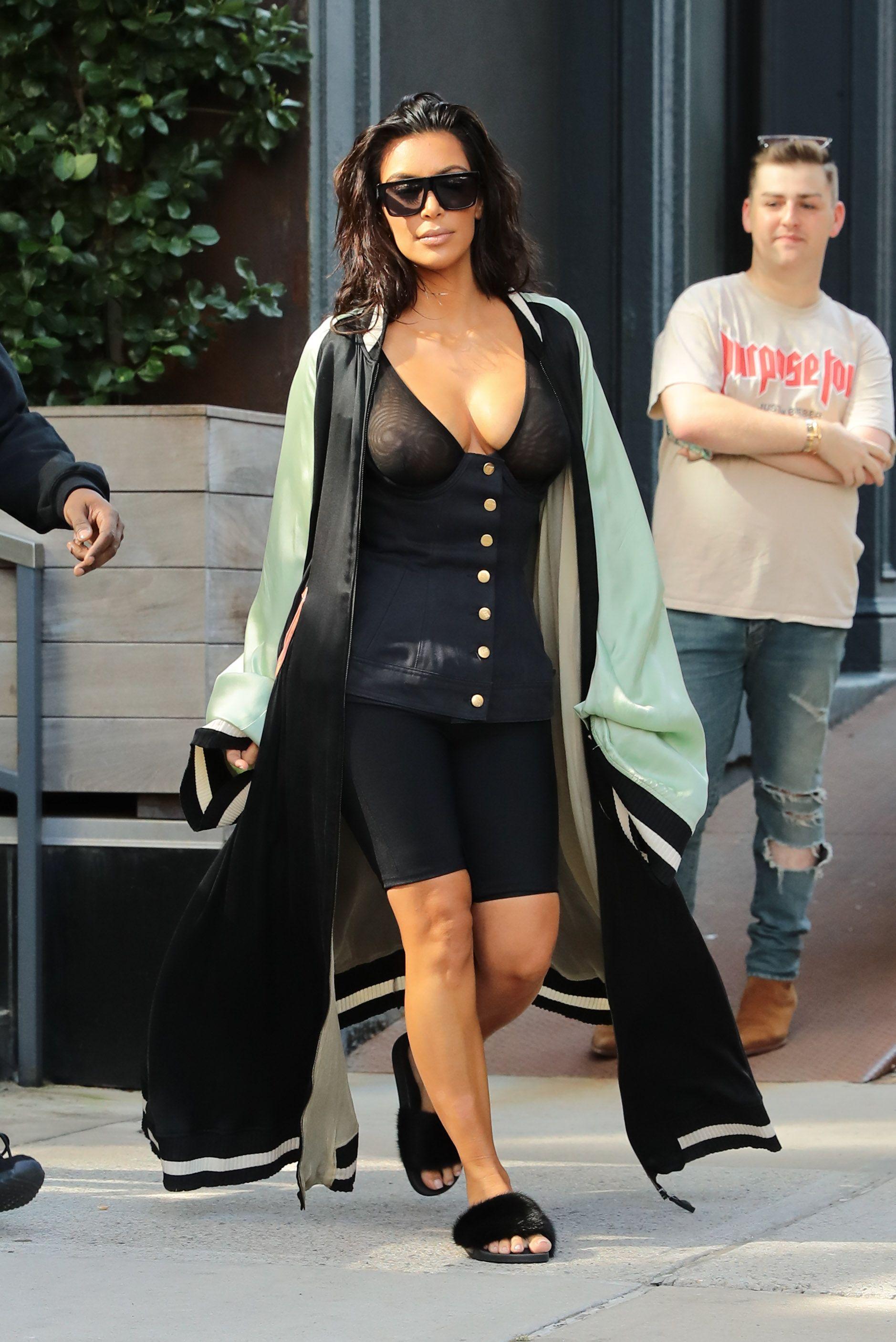Kim Kardashian See Through 30