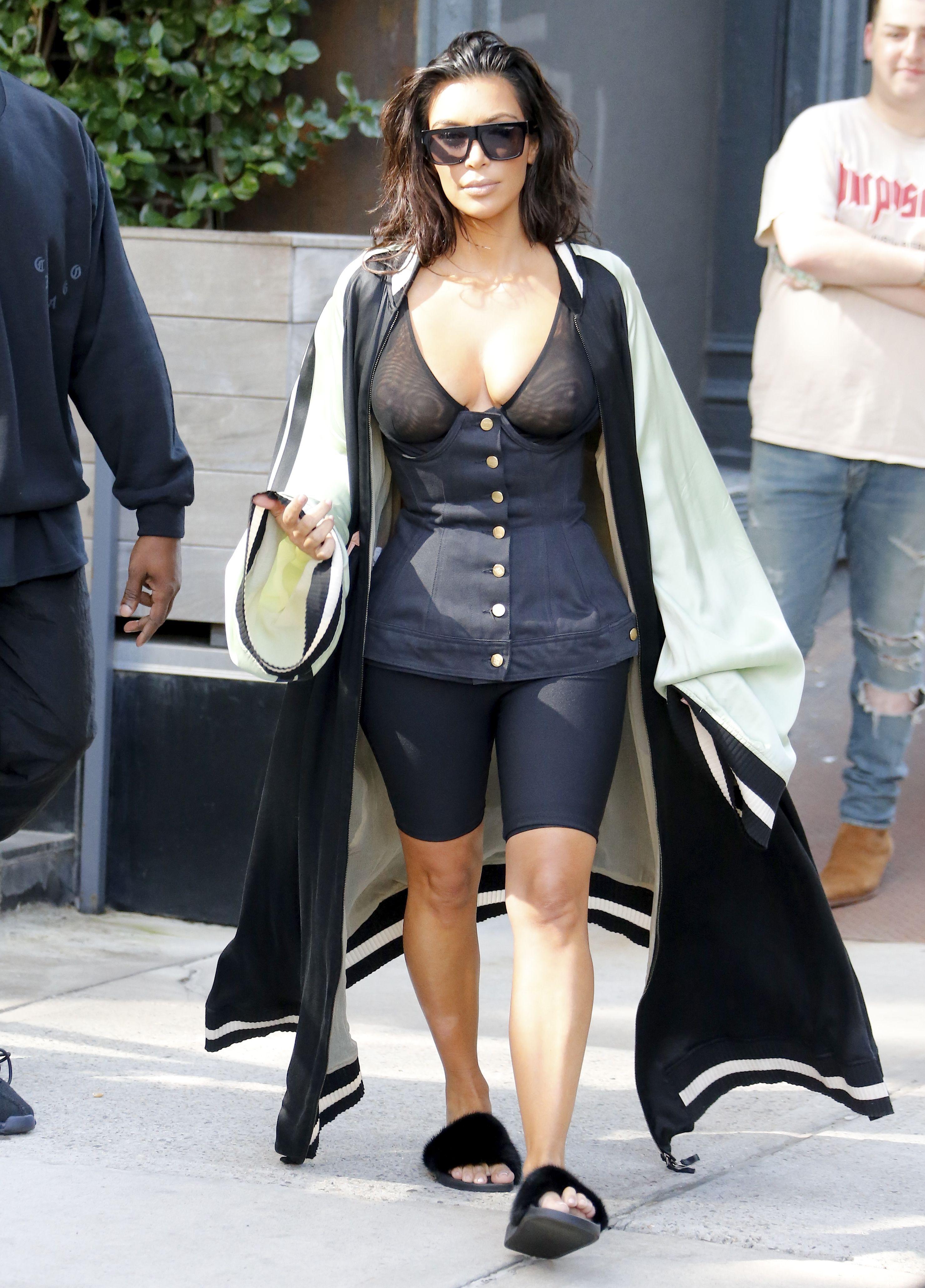 Kim Kardashian See Through 6 1