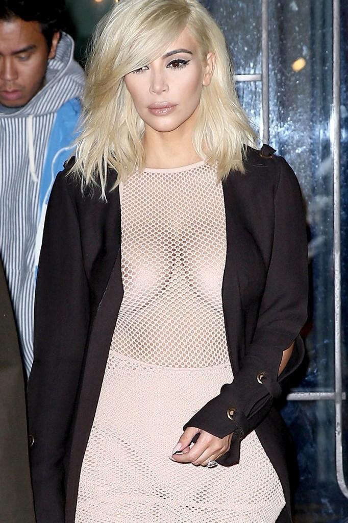 Kim Kardashian See Thru Photos 1