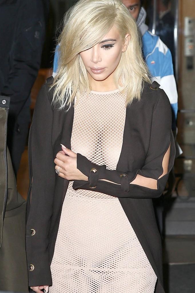 Kim Kardashian See Thru Photos 2