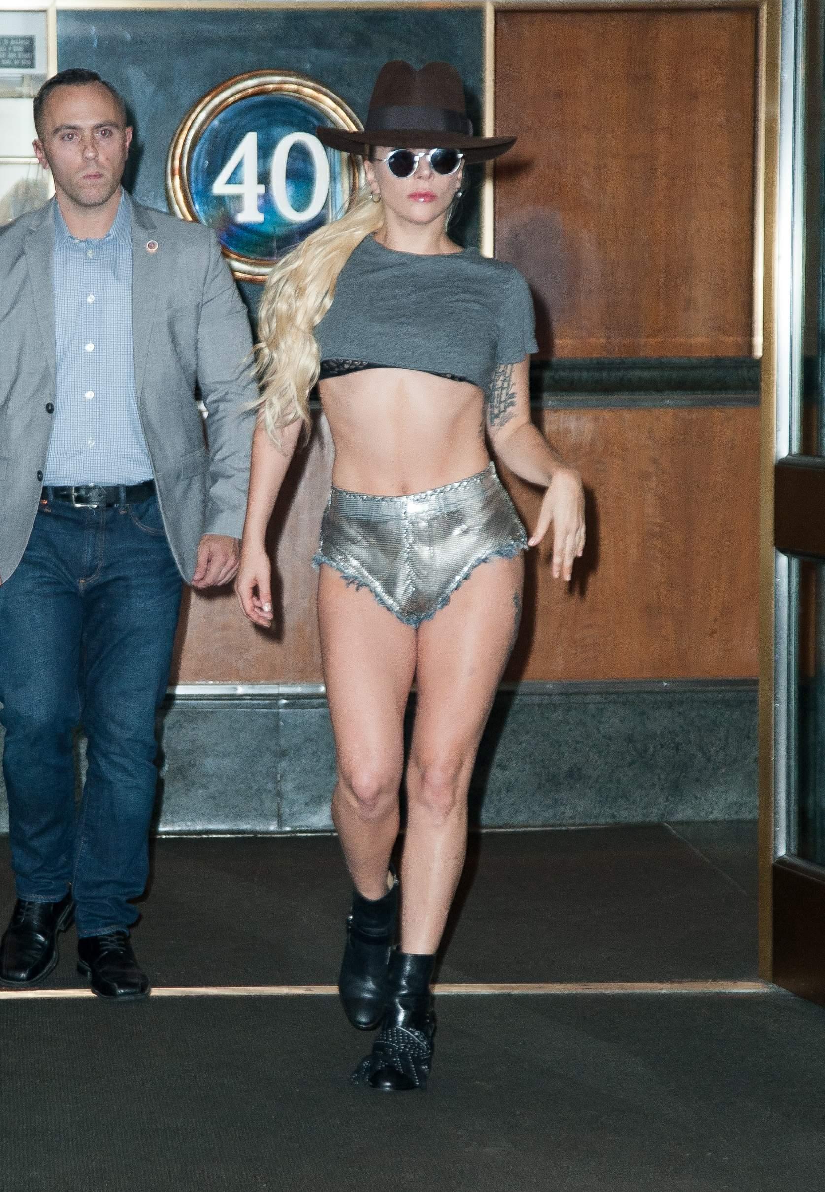 Lady Gaga Upshorts Thefappening.so 24