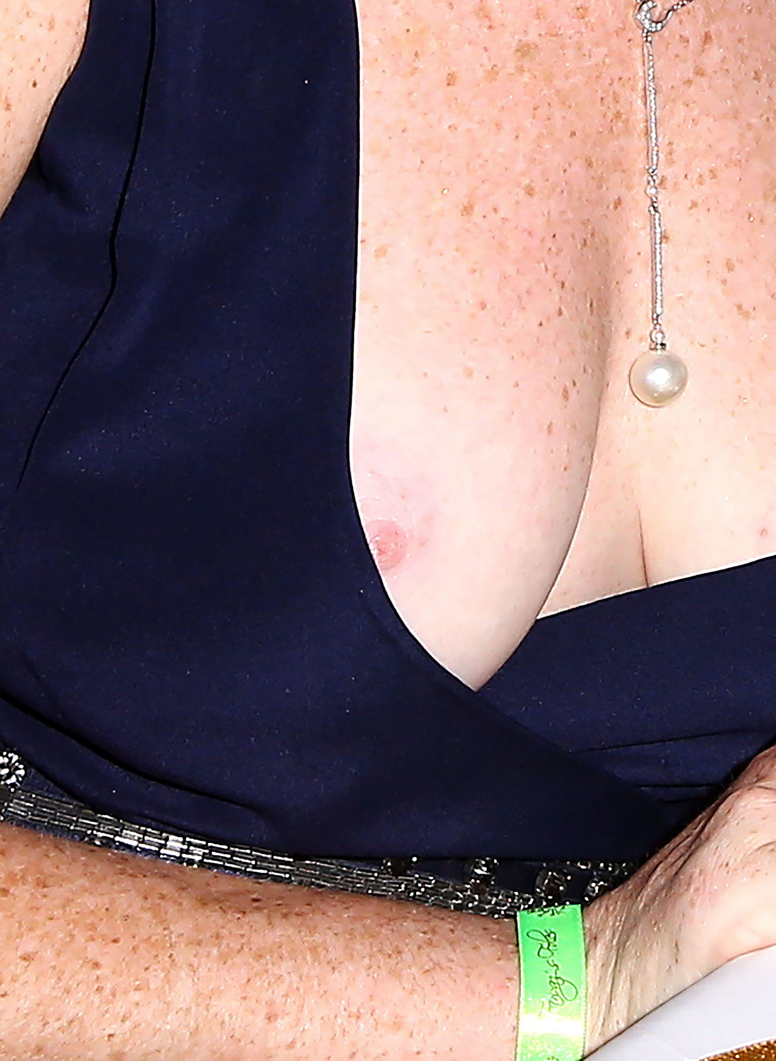 Lindsay Lohan Nip Slip 5