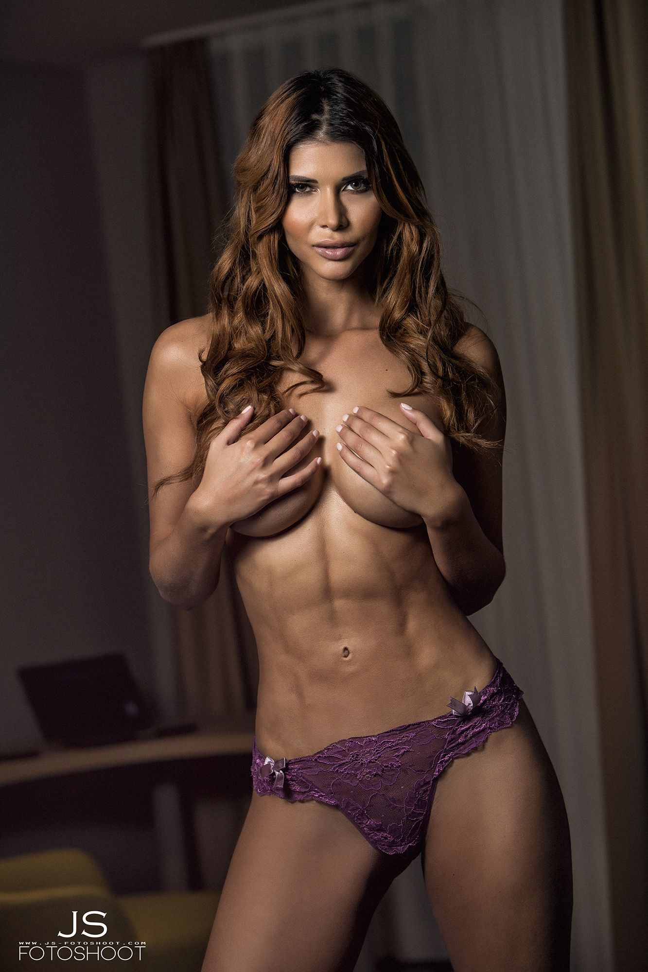 Micaela SchC3A4fer Sexy Topless 5 Thefappening.s