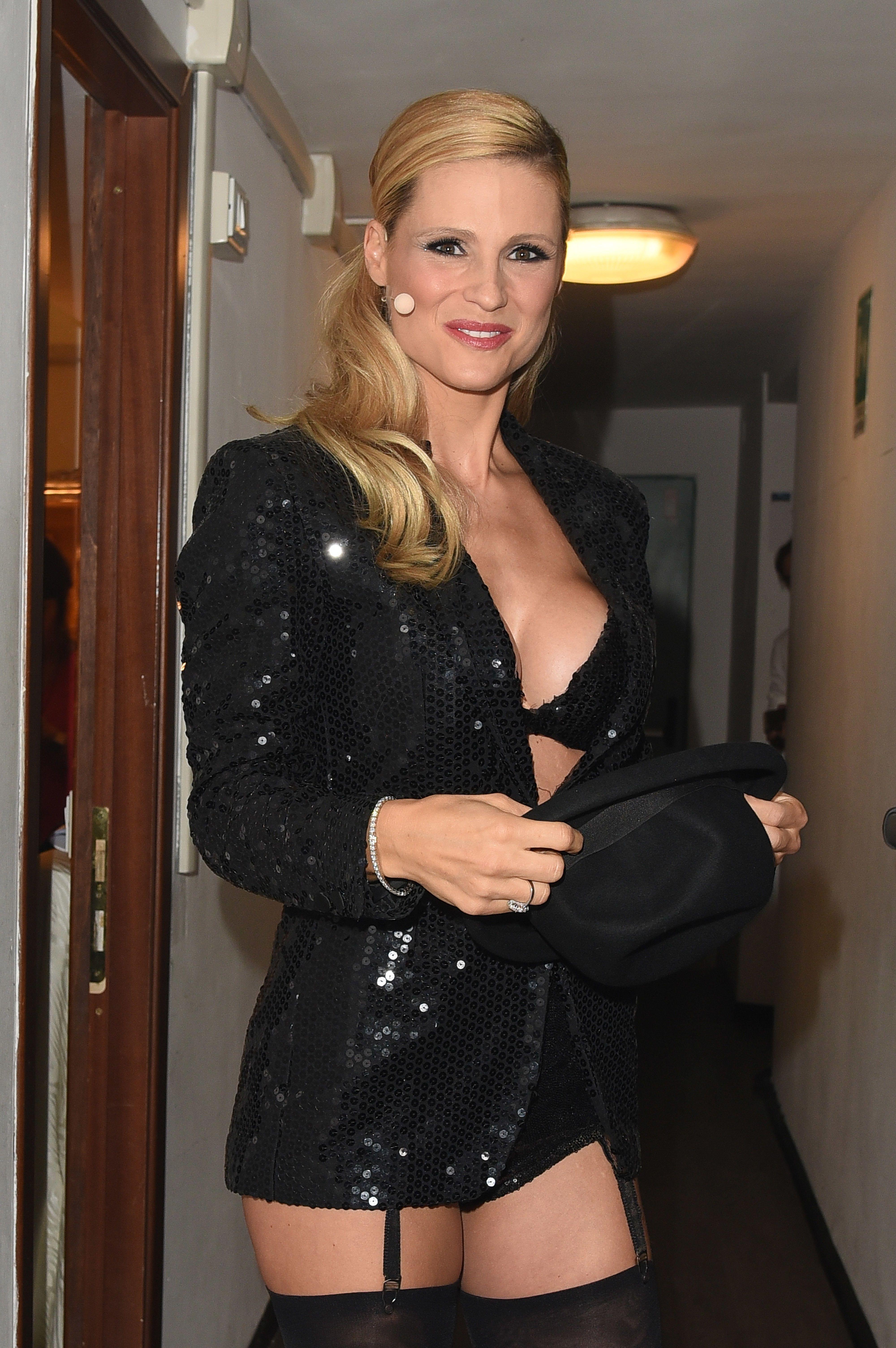Michelle Hunziker Sexy 1
