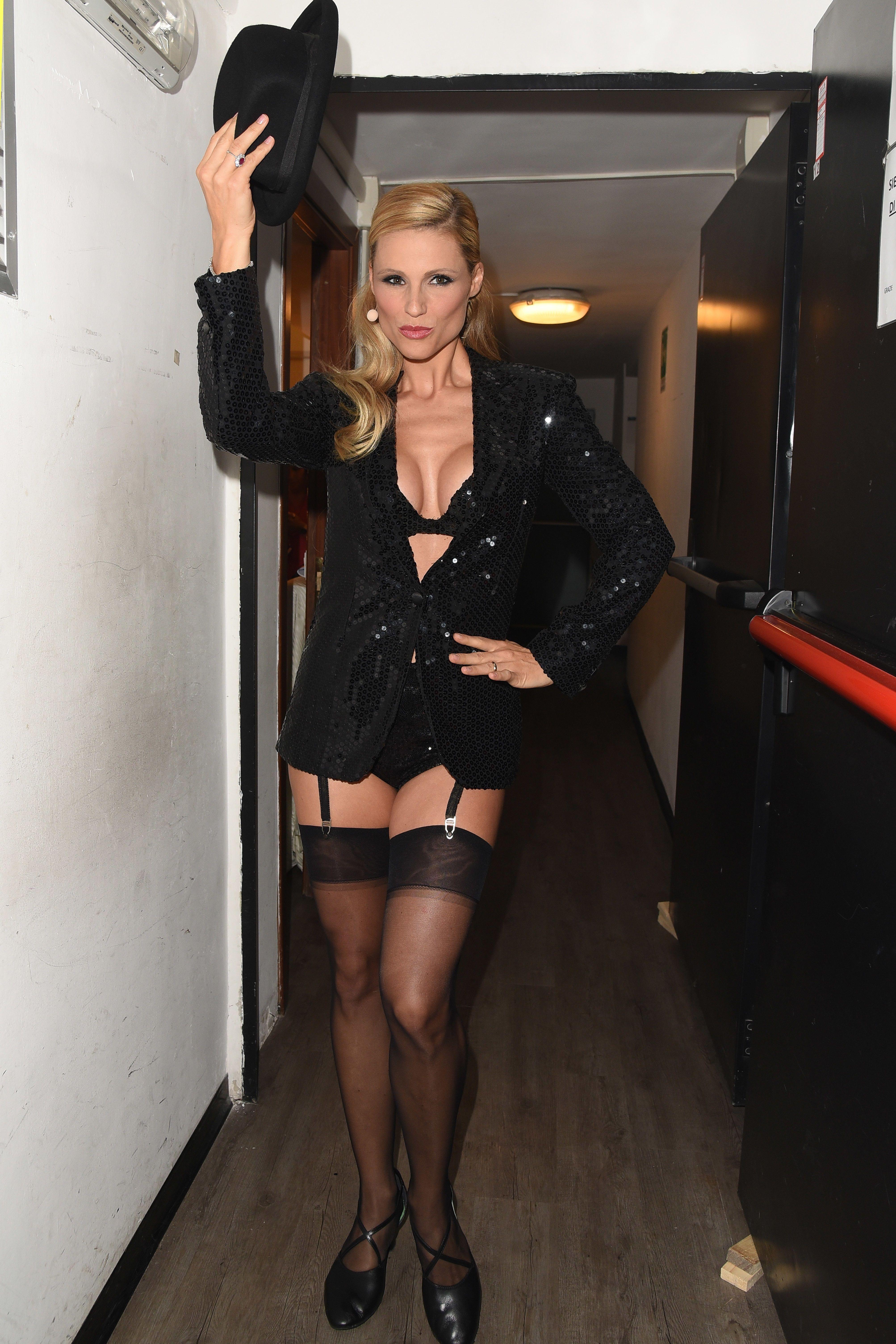 Michelle Hunziker Sexy 6