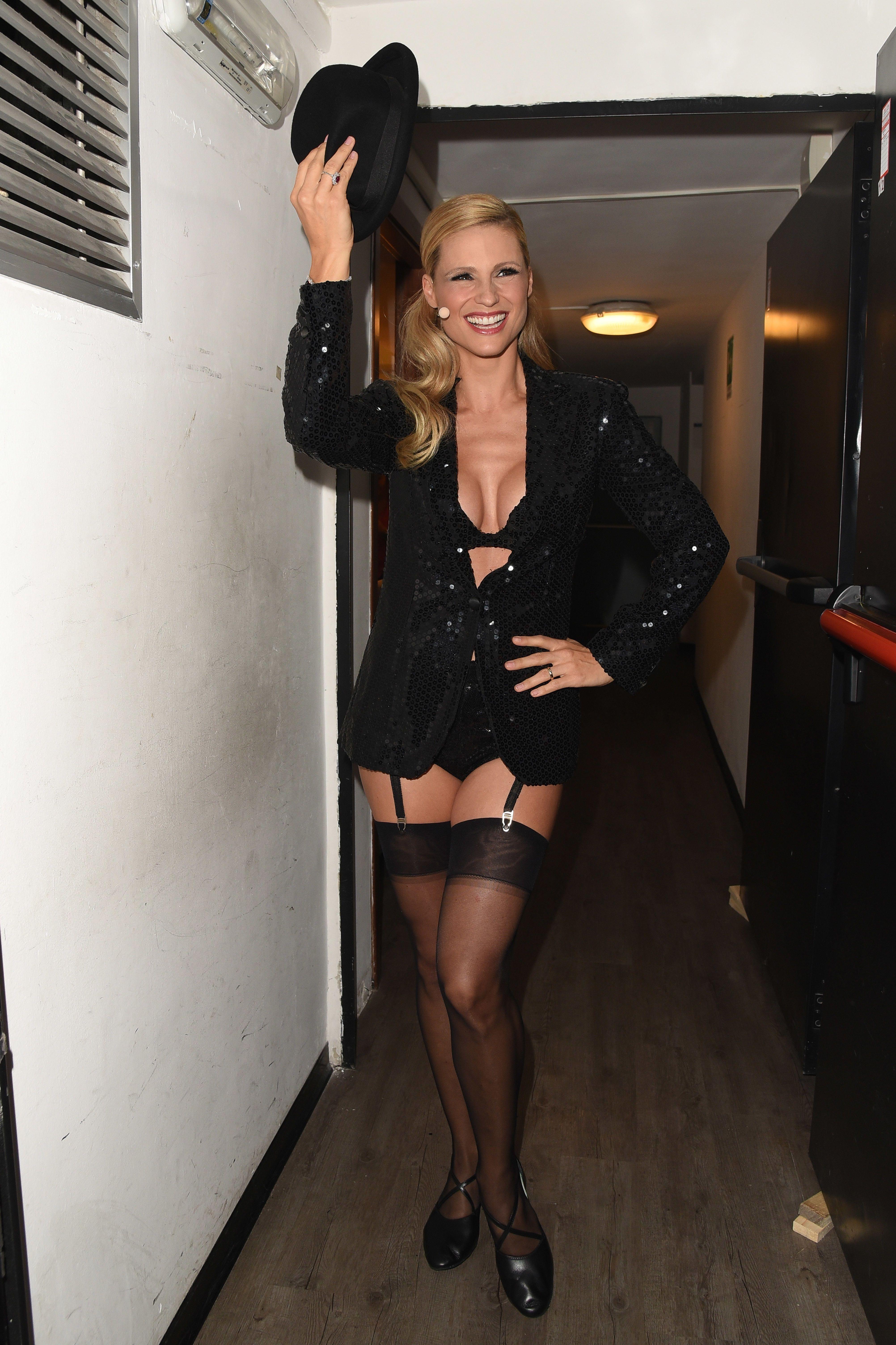 Michelle Hunziker Sexy 7