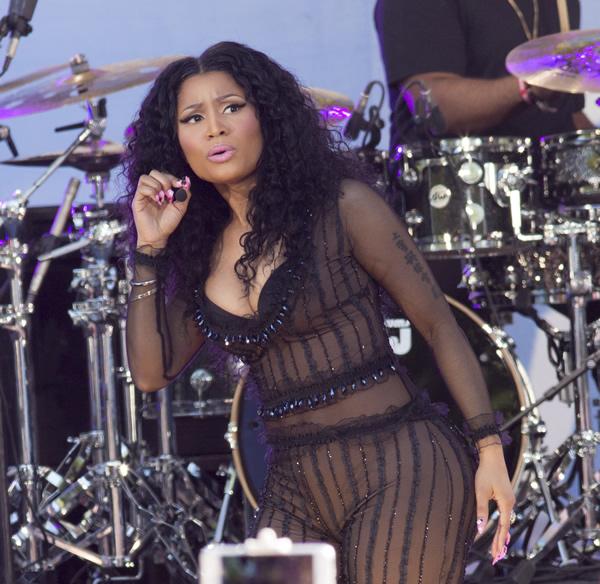 Nicki Minaj See Through 1