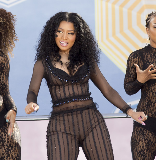 Nicki Minaj See Through 10