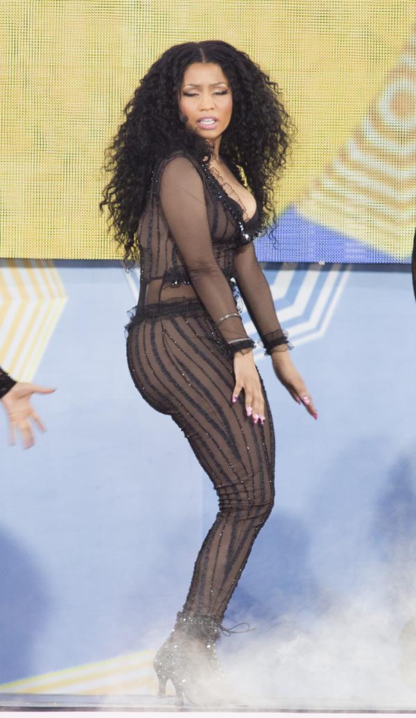Nicki Minaj See Through 13