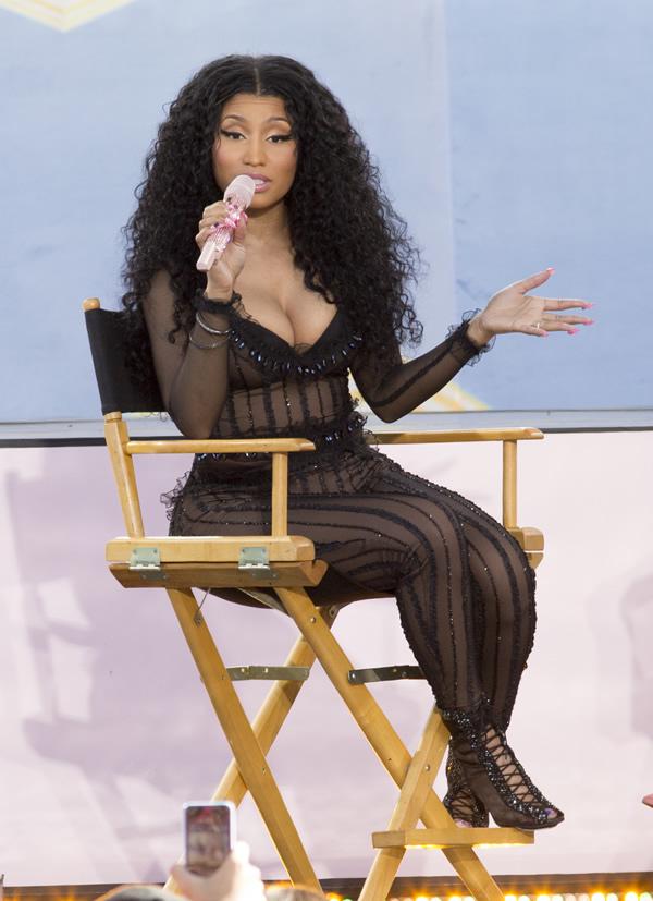 Nicki Minaj See Through 16