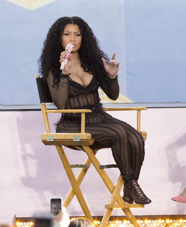 Nicki Minaj See Through 17