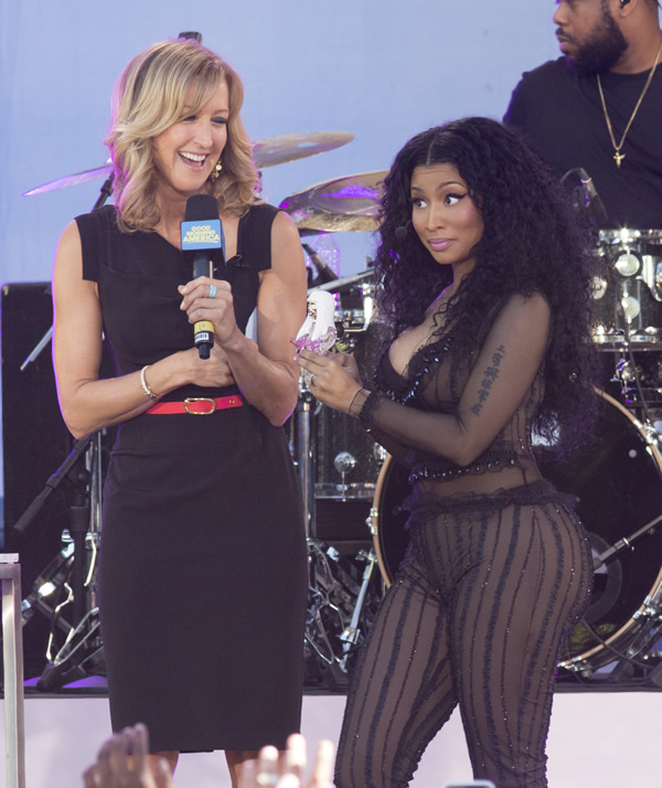 Nicki Minaj See Through 4
