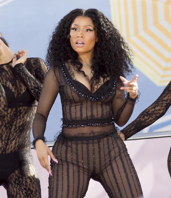 Nicki Minaj See Through 9