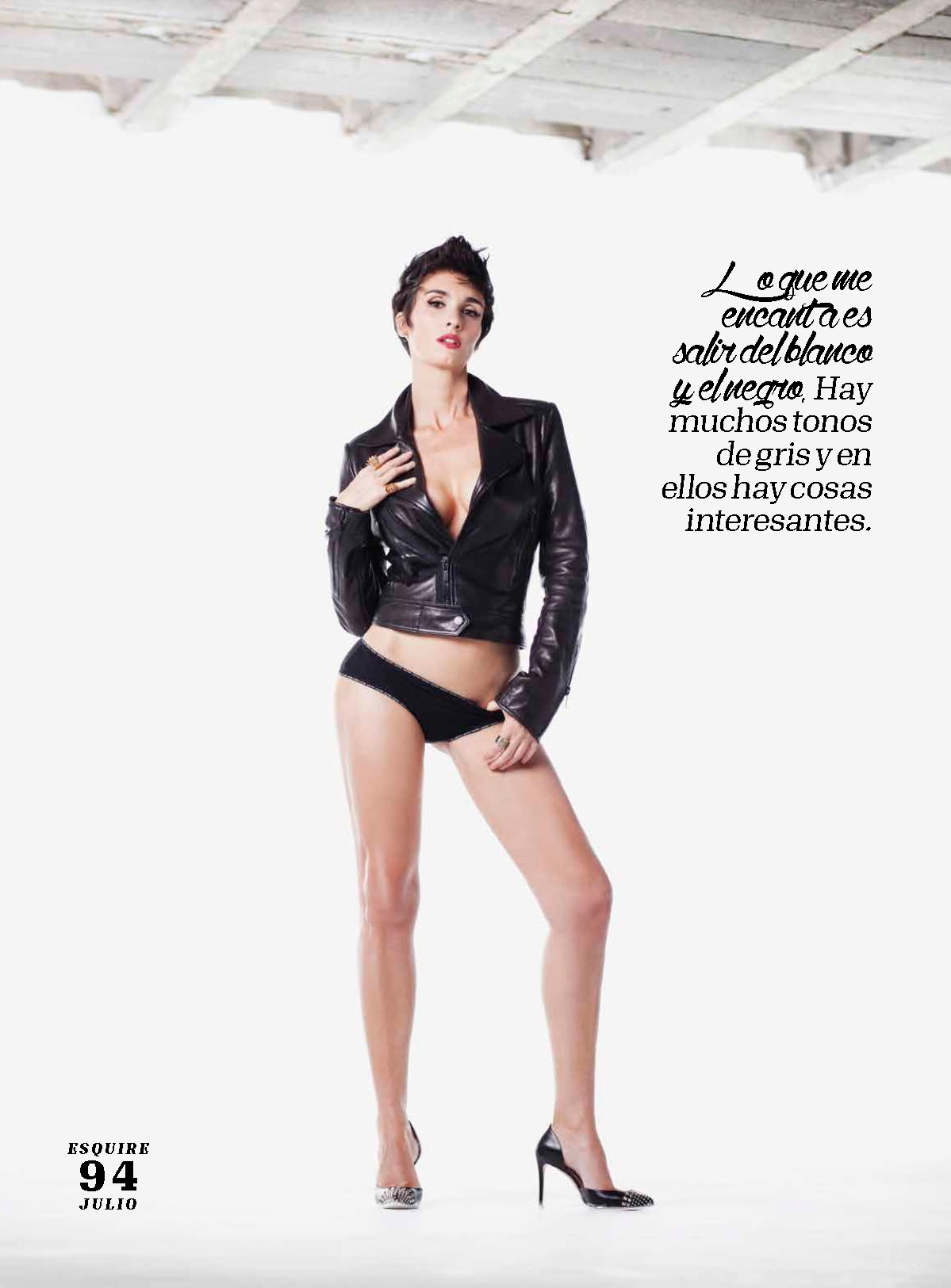 Paz Vega Topless Covered – Esquire Mexico – July 2015 3