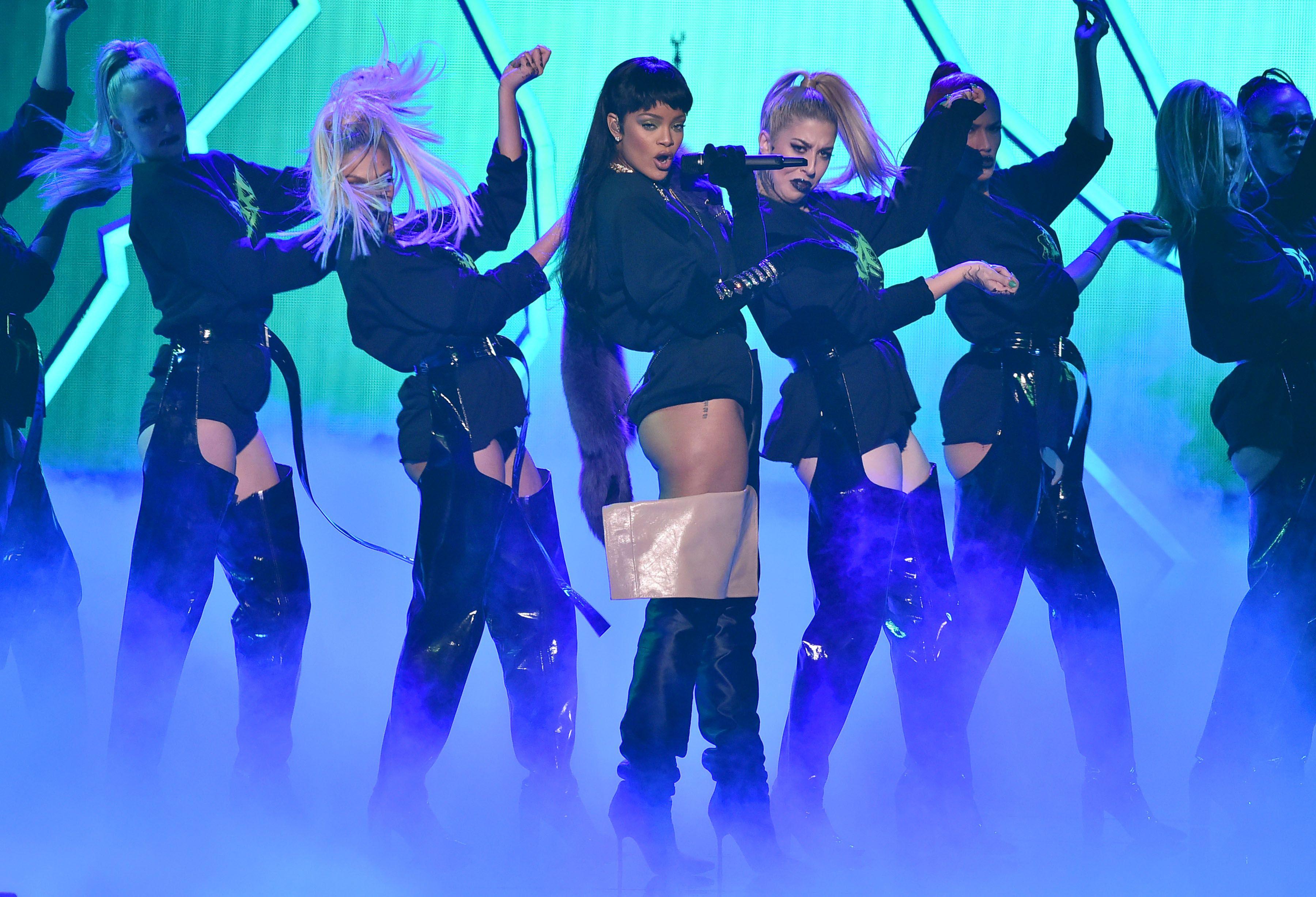 Rihanna Ass 14