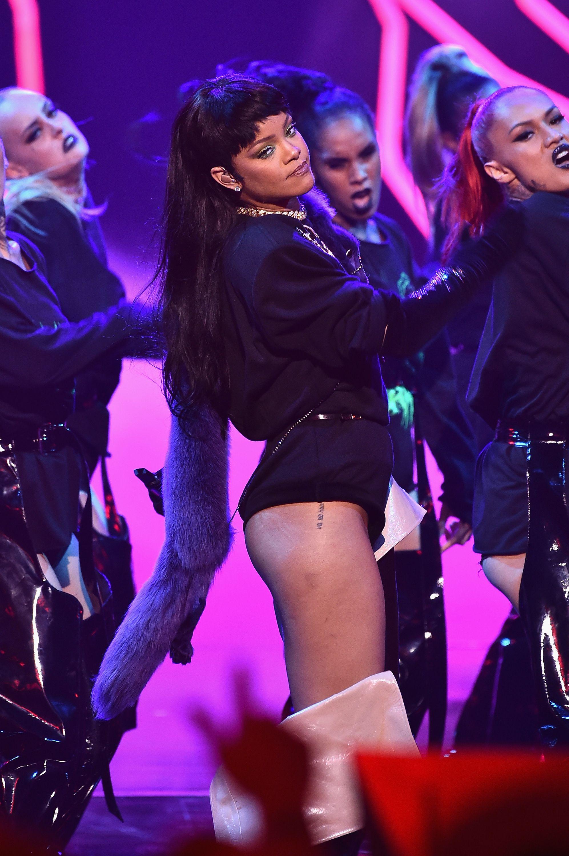 Rihanna Ass 4