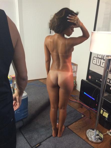 Rihanna Nude Photo Session 2