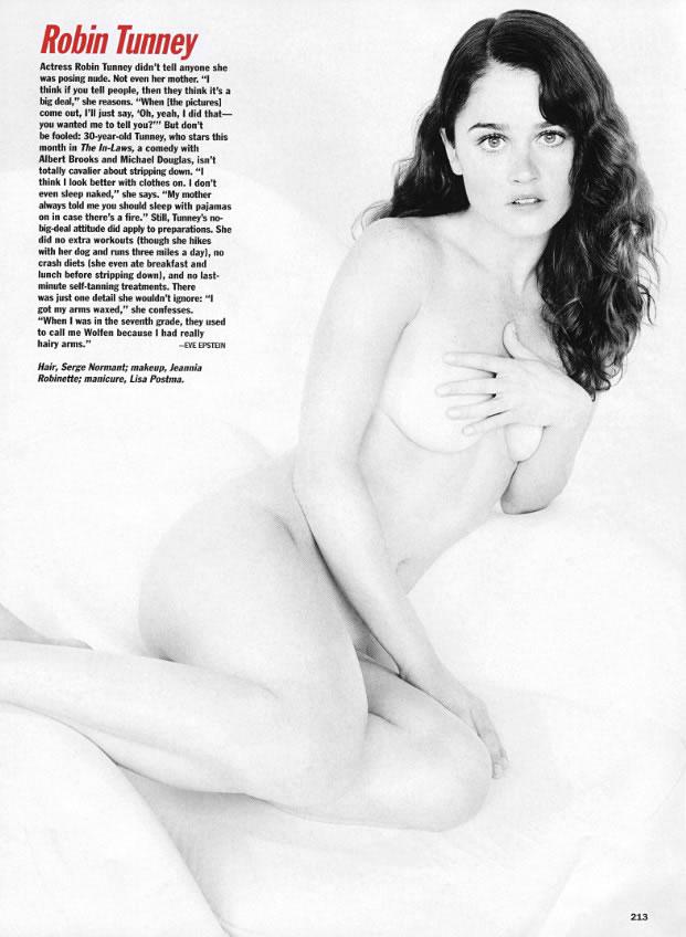 Robin Tunney Nude 2