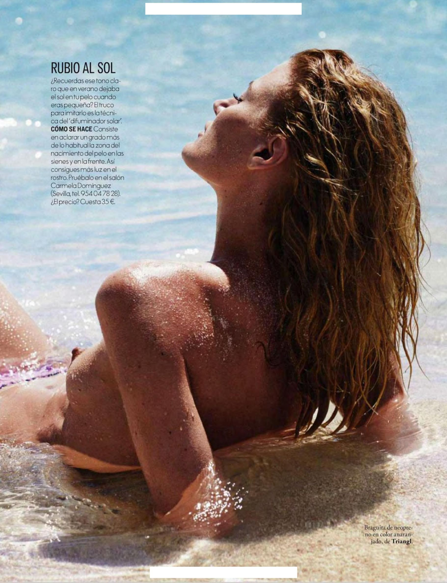 Topless Michelle Buswell Photos 2