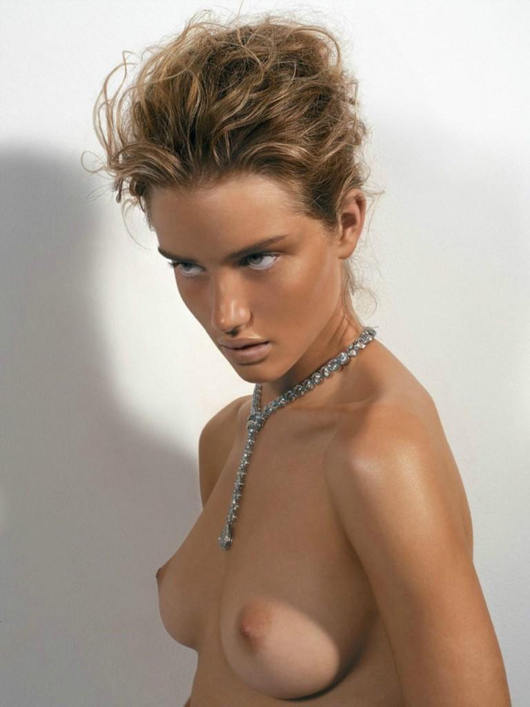 Topless Rosie Huntington Whiteley 1