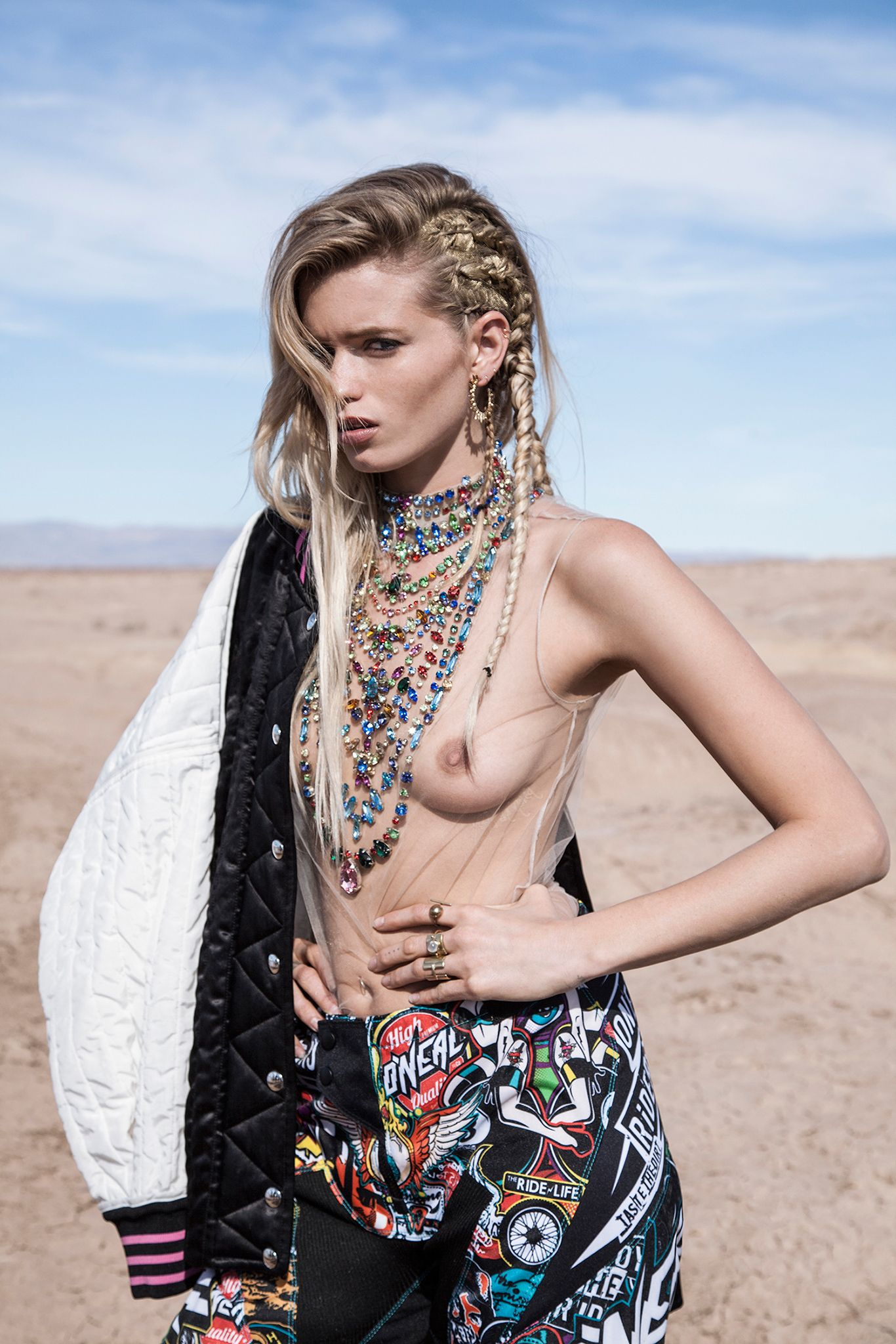 Topless Pics Of Abbey Lee...