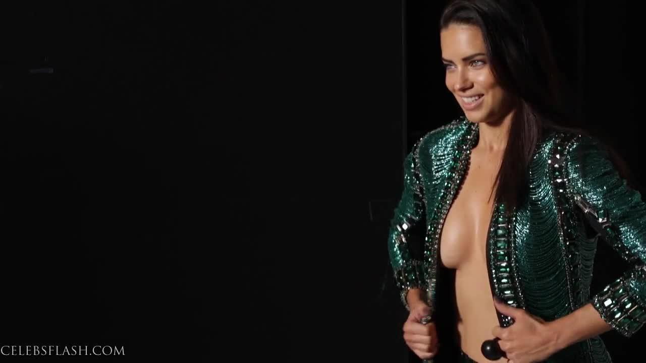 Adriana Lima Braless Pics