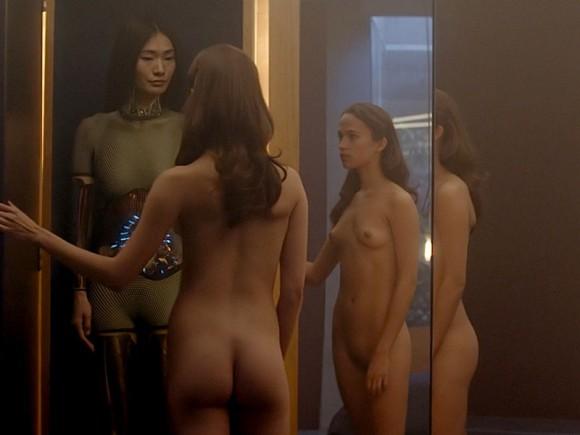 Alicia Vikander Naked scene 1