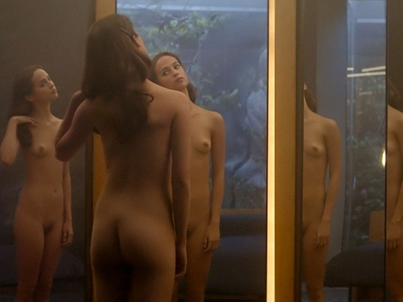 Alicia Vikander Naked Sce...