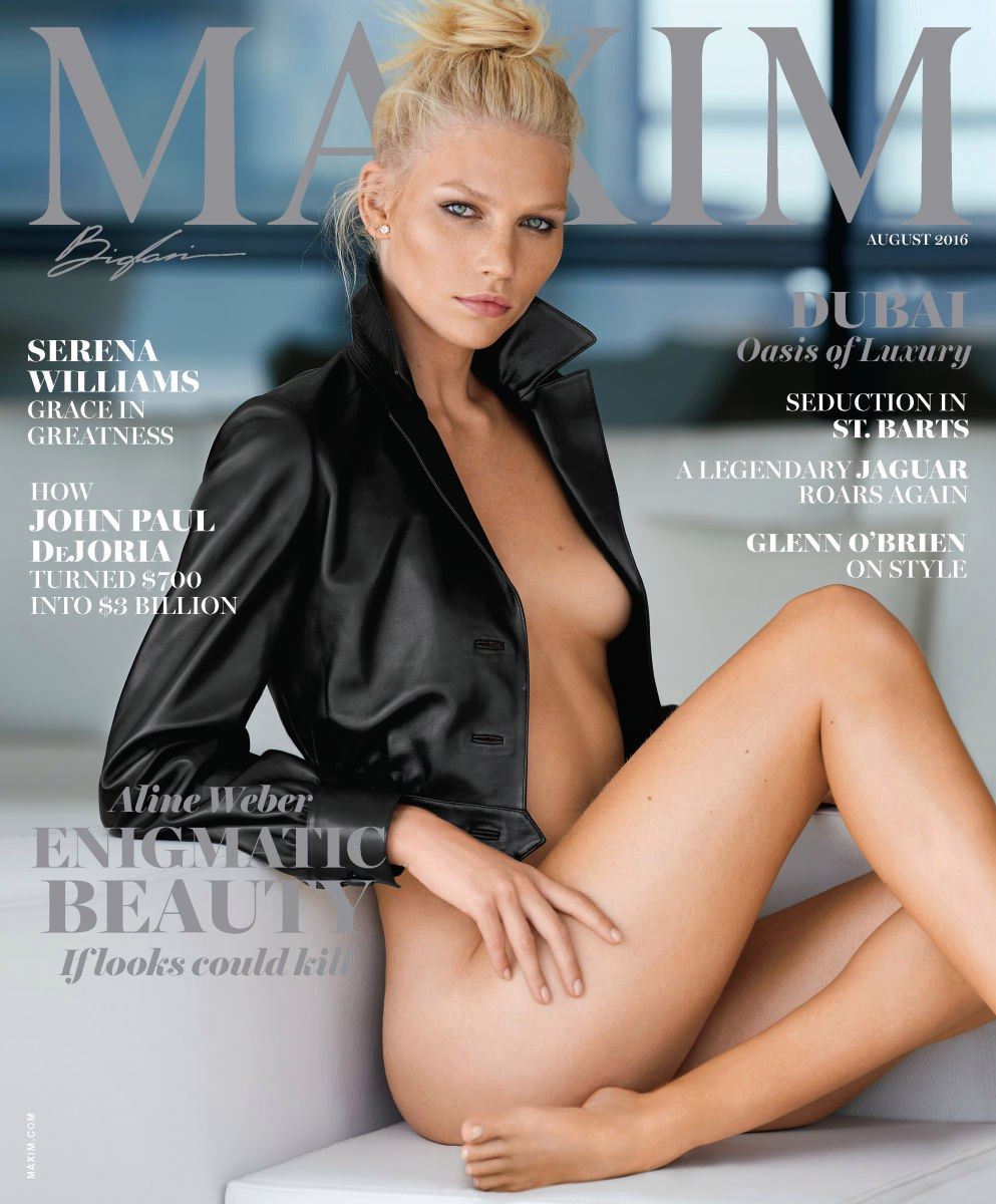 Aline Weber Topless Photo...