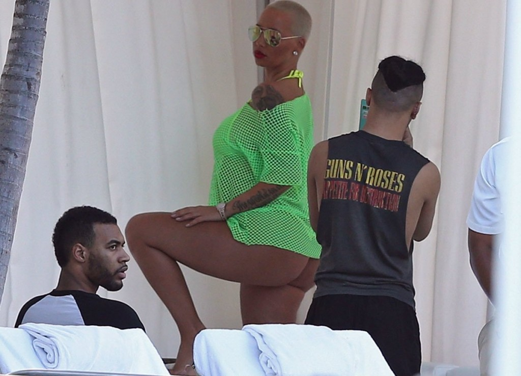 Amber Rose Bikini Photos
