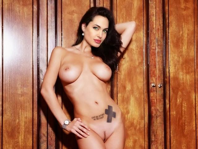 Angelina Jolie Naked (goo...