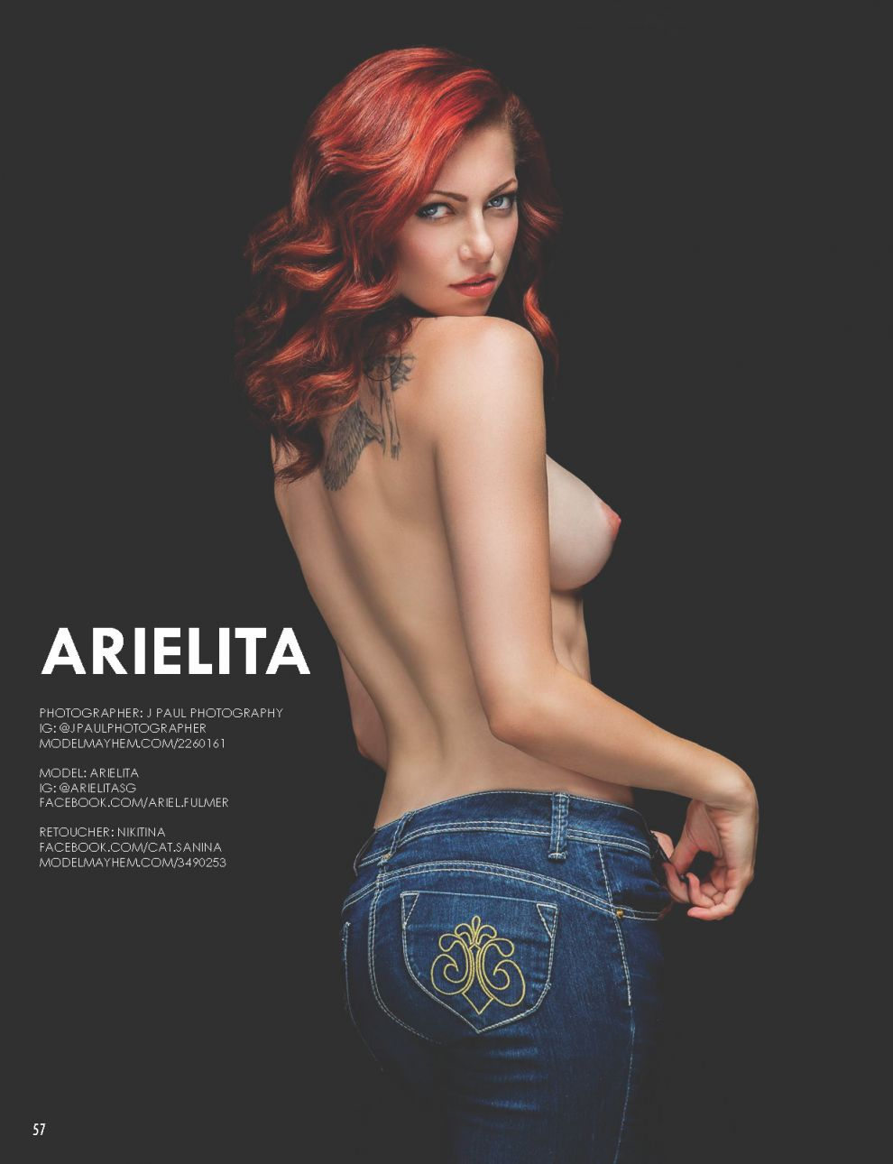Arielita Sexy Nude Photos...