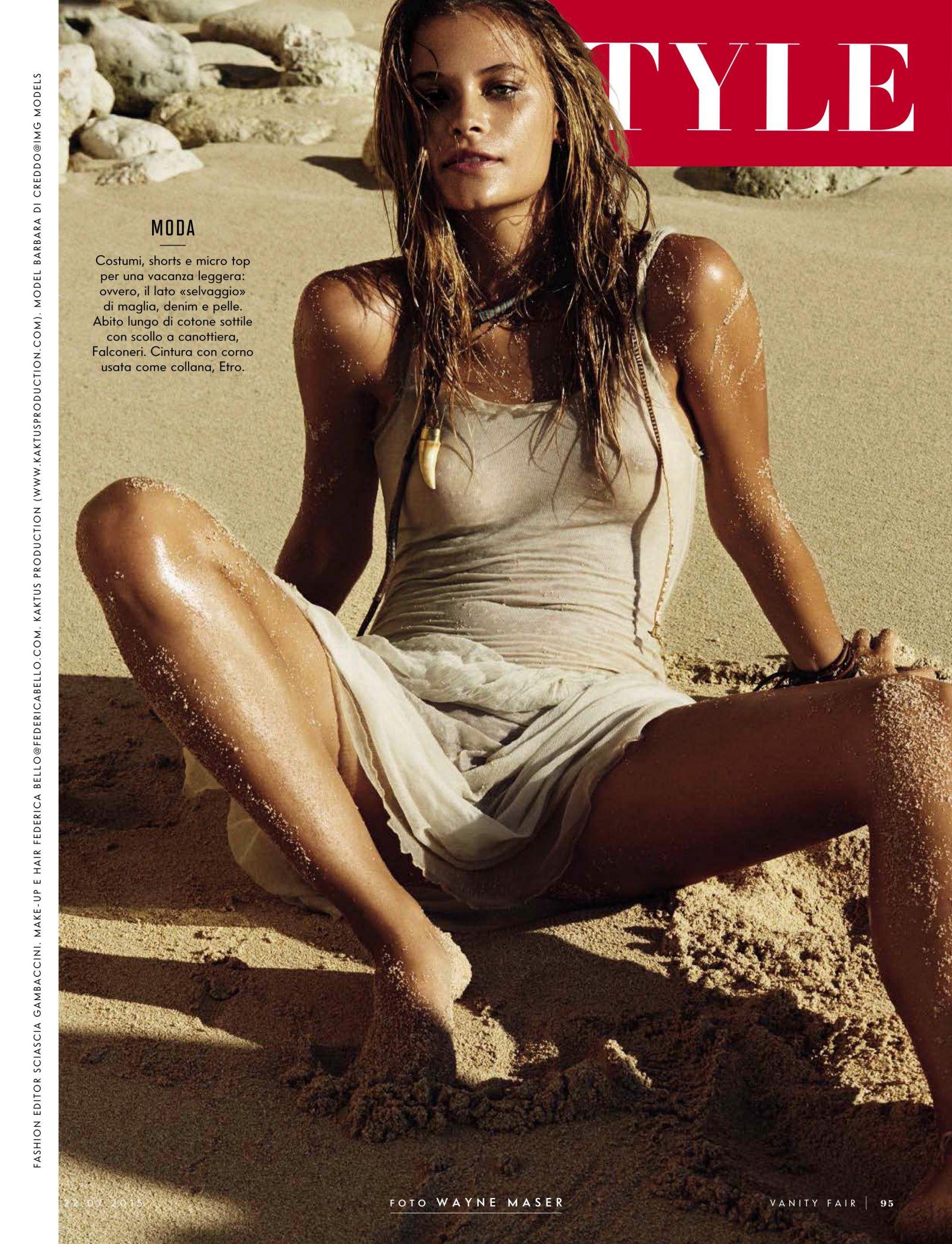 Barbara Di Creddo Topless...