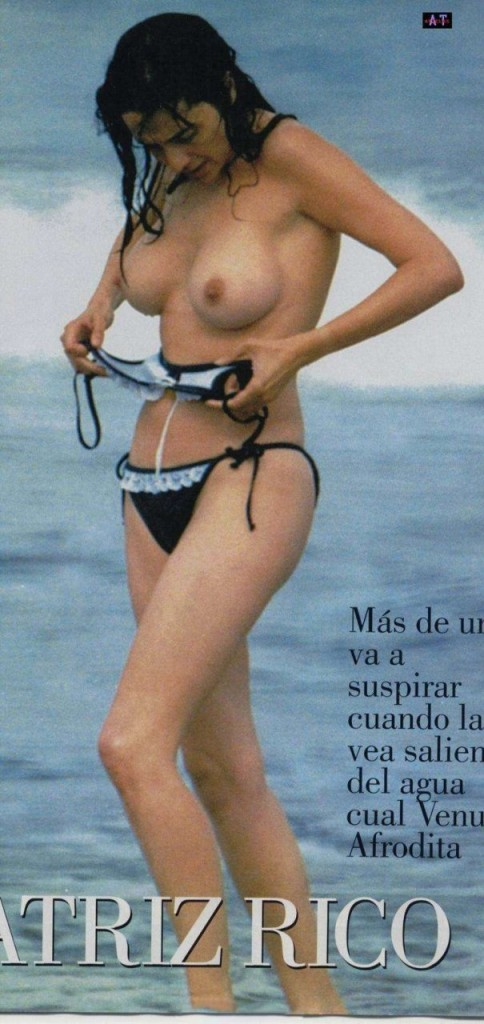 Beatriz Rico Topless 1