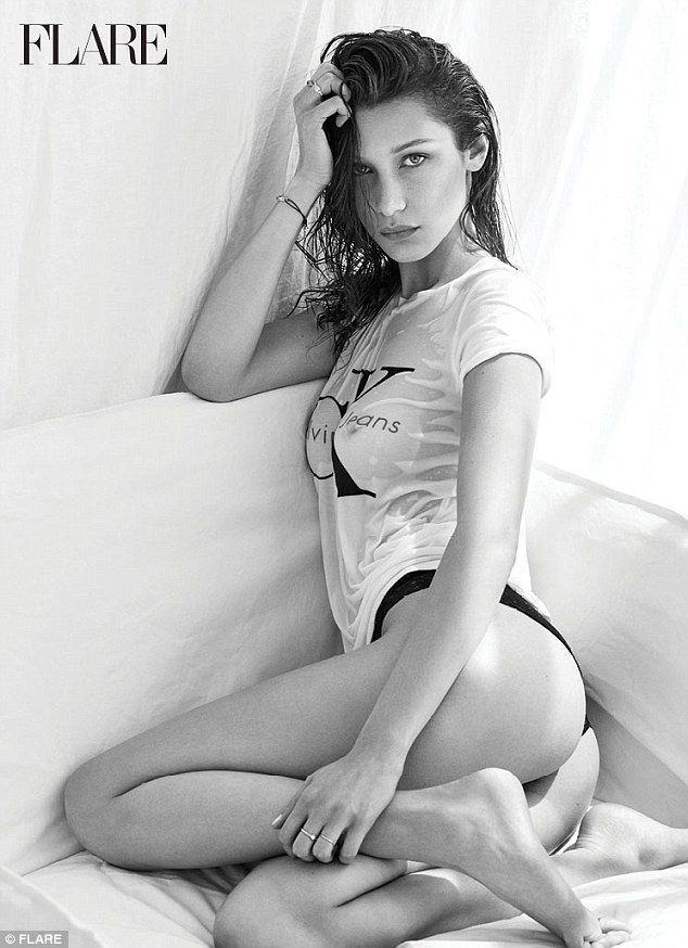 Bella Hadid Topless Photo...