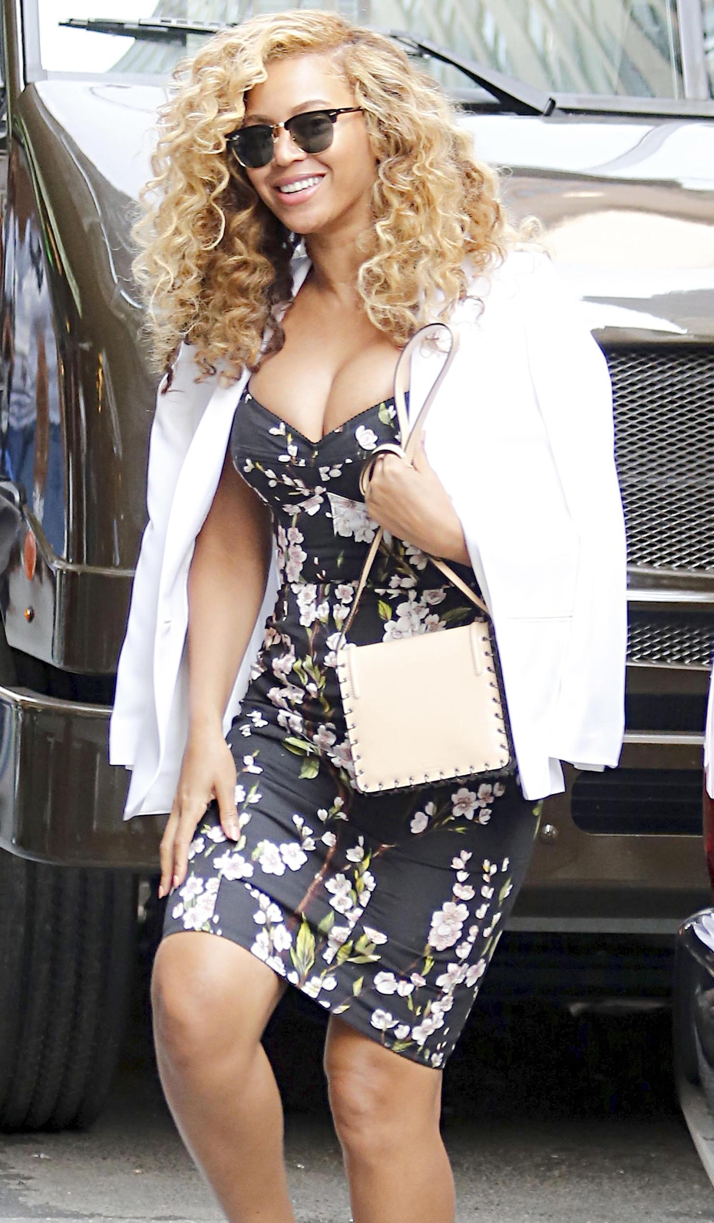 Beyonce's Cleavage ...