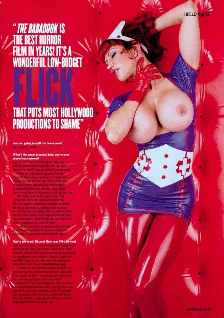 Bianca Beauchamp Topless ...