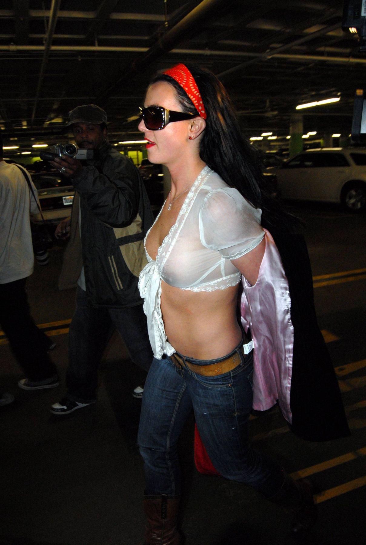Britney Spears See-thru P...