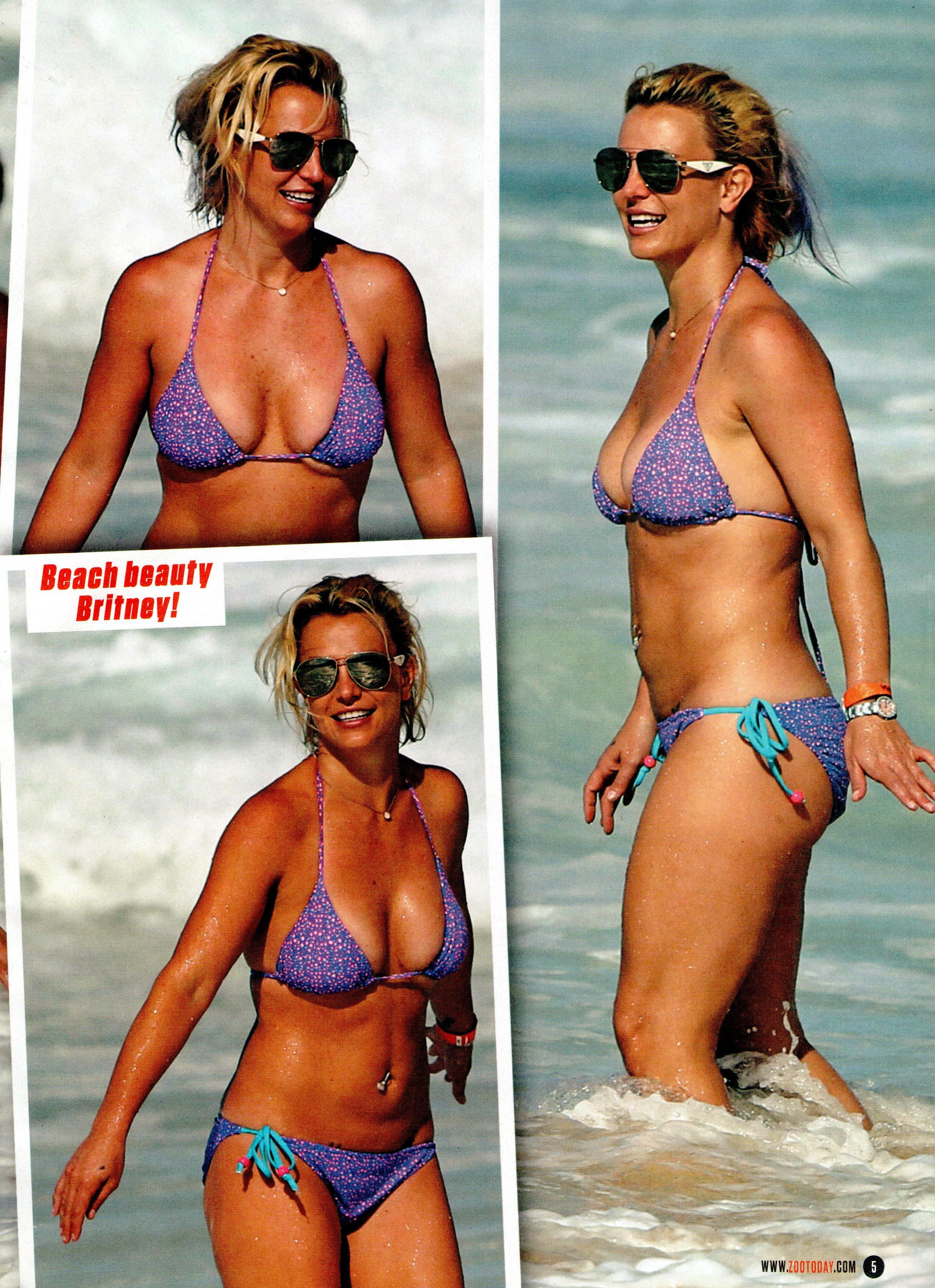 Bikini Pics Of Britney Sp...